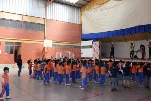 Teletín en Colegio Amankay 2018